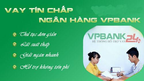 VPBank có rất nhiều hình thức cho vay tín chấp1