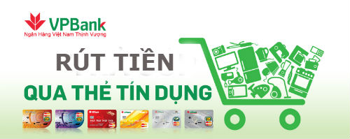 Mức lãi suất rút tiền thẻ tín dụng VpBank