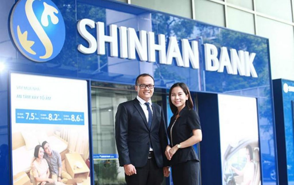 Bảng biểu phí rút tiền mặt thẻ tín dụng Shinhan Bank mới cập nhật