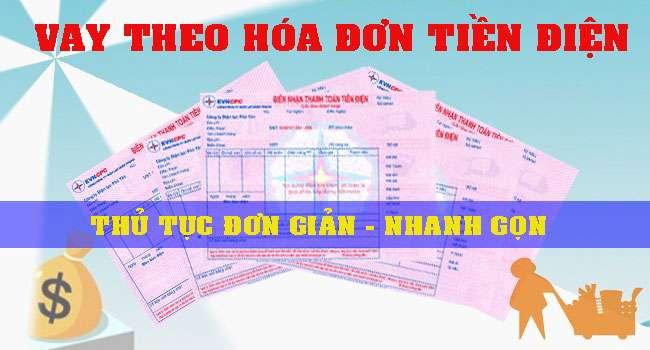 Vay theo hóa đơn tiền điện tại Vietcombank lãi suất thấp nhất