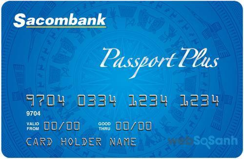 Các loại thẻ tín dụng của ngân hàng Sacombank