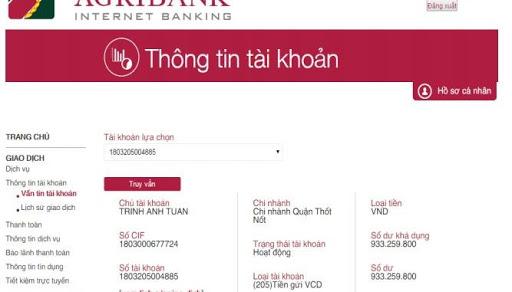 Không nhớ số thẻ ngân hàng làm sao để lấy thông tin chính xác?