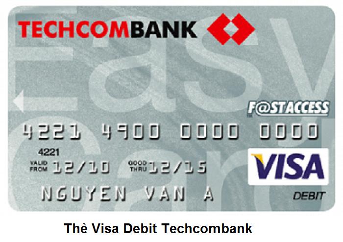 Thẻ Techcombank Visa Debit là gì?