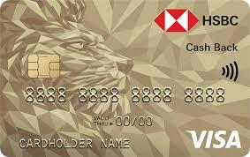 Thẻ Visa HSBC hoàn tiền   Thẻ Visa Cash Back